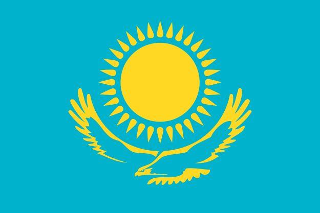 bandera kazajstán