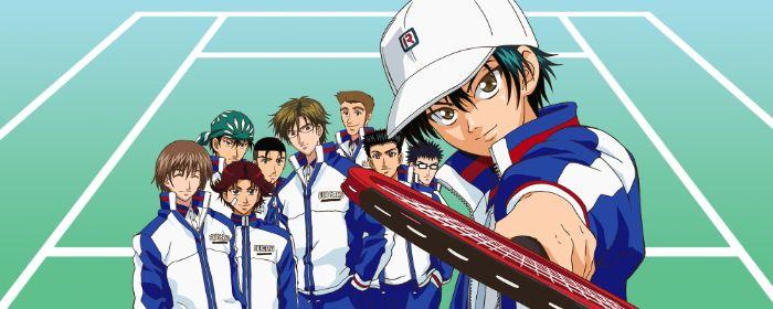 el príncipe de la vieja escuela de tenis de anime