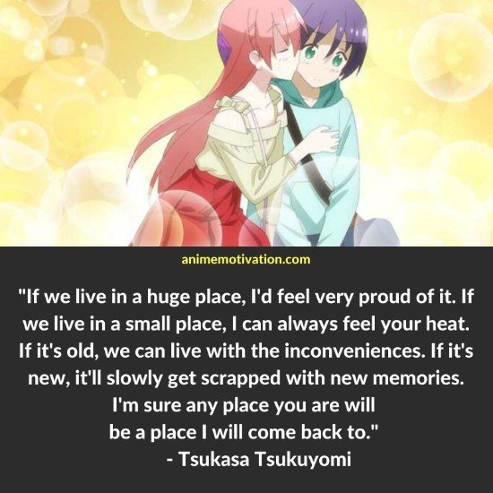 Citas de Tsukasa Tsukuyomi