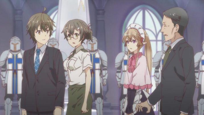 Lista de personajes de Outbreak Company anime