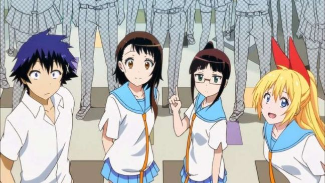 personajes de anime nisekoi
