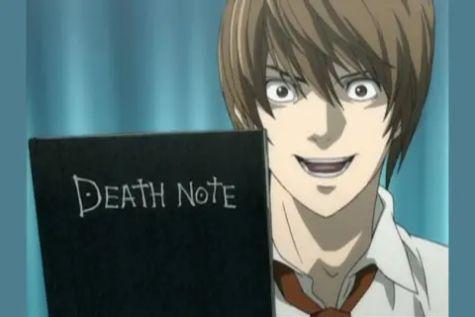 nota de la muerte libro anime