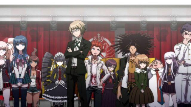 danganronpa personajes de anime episodio 1