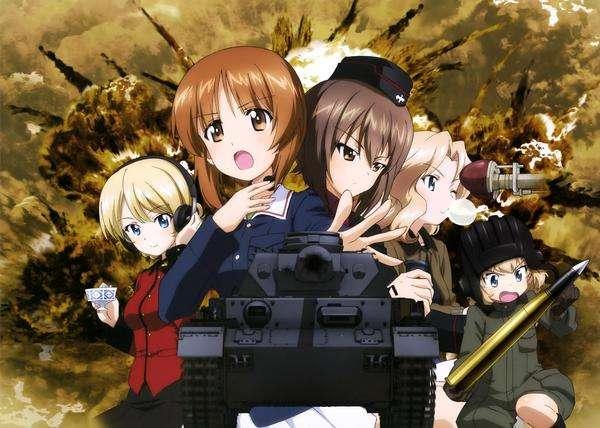 espectáculos de anime militar