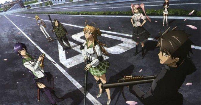 escuela secundaria de los personajes de anime muertos 1