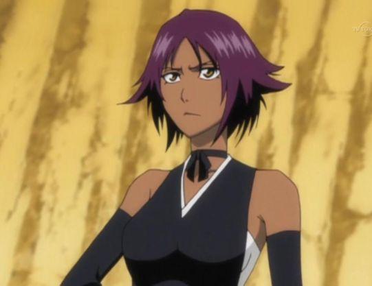 yoruichi shihoin bleach anime