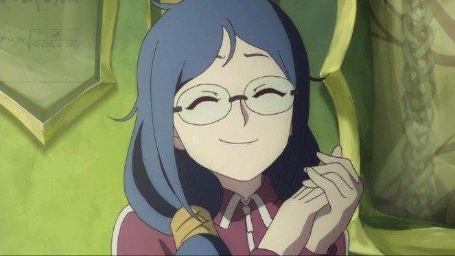 Ursula Callistis sonríe