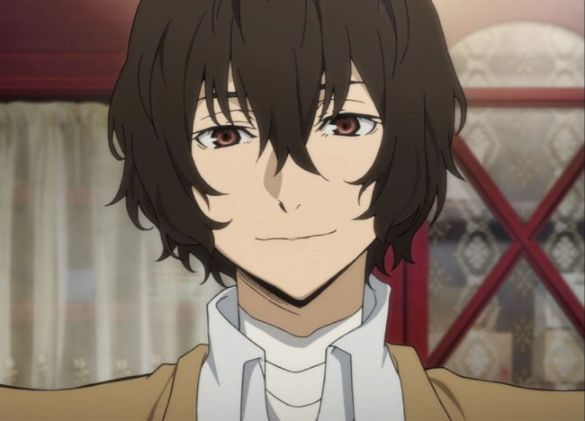 osamu dazai sonrisa anime
