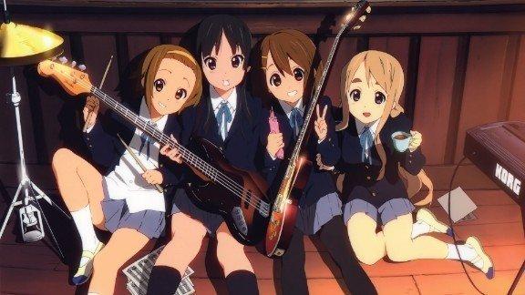 k en lindo fondo de pantalla anime