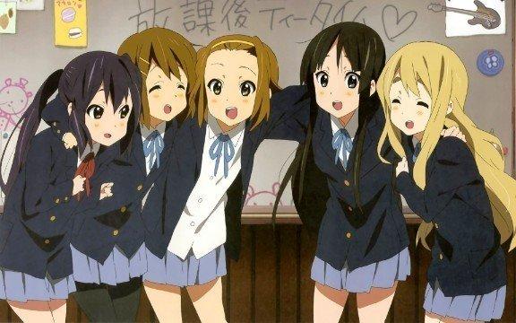 k en lindos personajes de anime