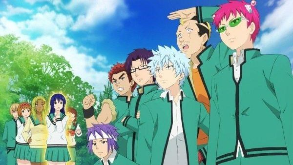 Anime escolar Donde el personaje principal oculta el poder