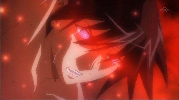 transformación de anime