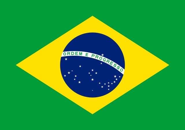 Logotipo de la bandera de Brasil