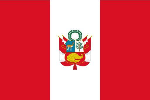 bandera de perú rojo blanco