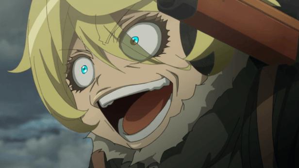 saga de tanya el anime maligno
