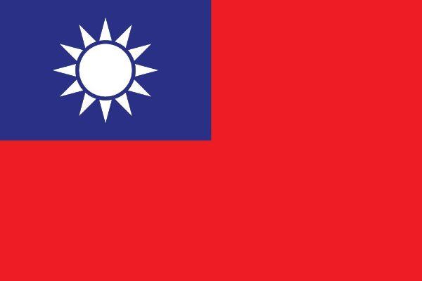 banderas de taiwán